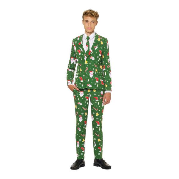 OppoSuits Santaboss Teen Kostym - 158/164