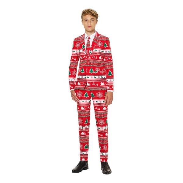 OppoSuits Teen Winter Wonderland Kostym - 146/152