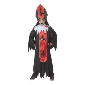 Påve Halloween Barn Maskeraddräkt - Large
