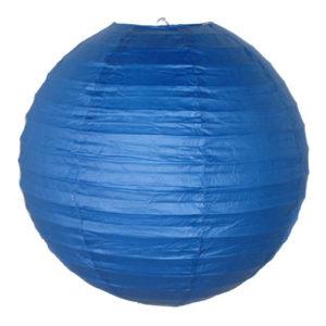 Papperslykta Blå