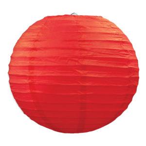Papperslyktor Röda - 3-pack
