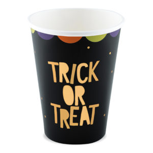 Pappersmuggar Trick Or Treat Guld Mix - 6-pack