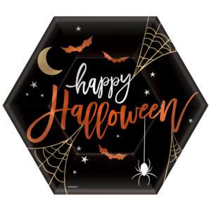 Papperstallrikar Happy Halloween