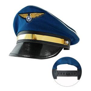 Pilothatt Justerbar - One size