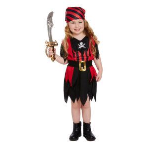 Pirat Klänning Barn Maskeraddräkt - One size