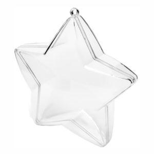 Presentaskar Stjärnor Transparenta - 3-pack