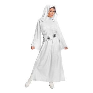 Prinsessan Leia Deluxe Maskeraddräkt - Large