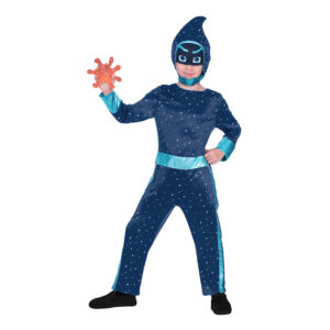 Pyjamashjältarna Night Ninja Barn Maskeraddräkt - Medium