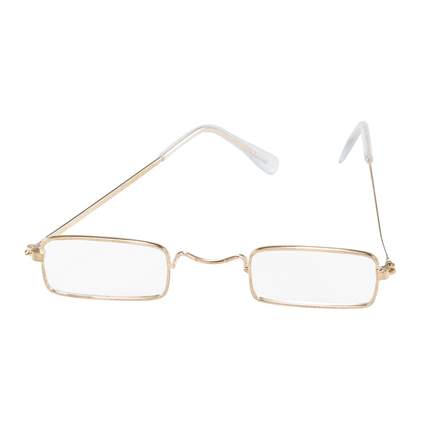 Rektangulära Glasögon