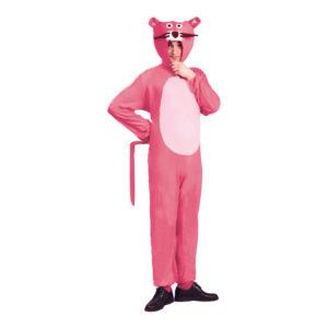 Rosa Pantern Maskeraddräkt - Medium