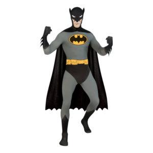 Second Skin Batman Maskeraddräkt - X-Large