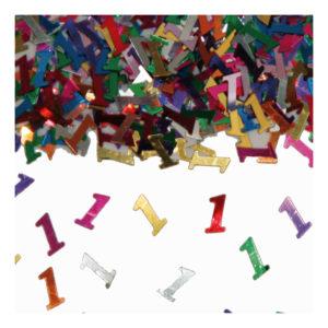 Sifferkonfetti - Siffra 1