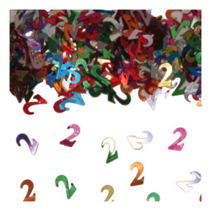 Sifferkonfetti - Siffra 2