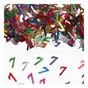Sifferkonfetti - Siffra 7