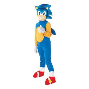 Sonic the Hedgehog Barn Maskeraddräkt - Large