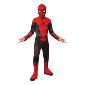 Spider-Man Jumpsuit Barn Maskeraddräkt - Medium