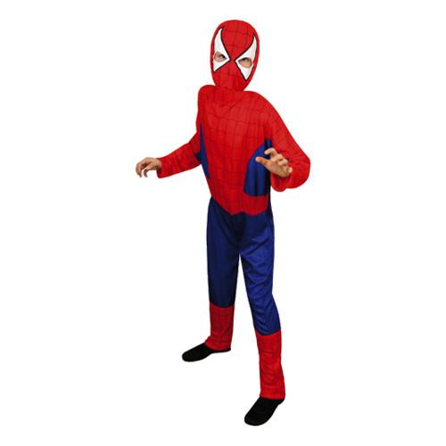 Spiderman Budget Barn Maskeraddräkt - Small