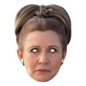 Star Wars Leia Pappmask - One size
