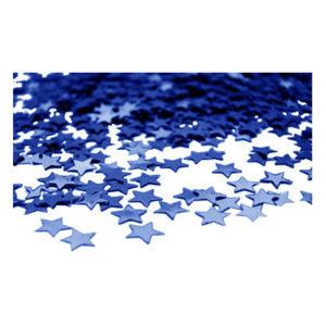 Stjärnkonfetti Blå