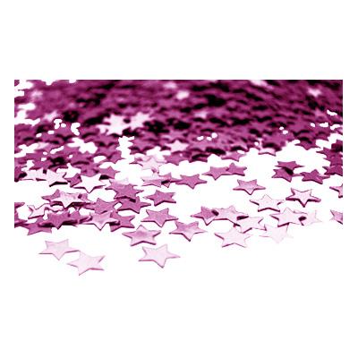 Stjärnkonfetti Rosa