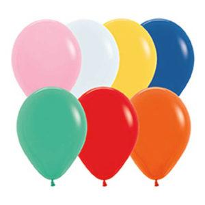 Stora Ballonger Flerfärgade - 10-pack