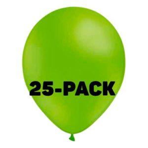 Stora Ballonger Limegröna - 25-pack