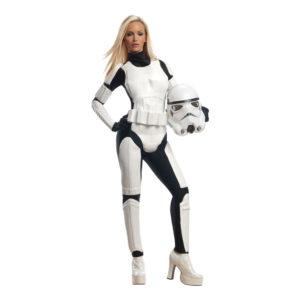 Stormtrooper Dam Maskeraddräkt - Medium