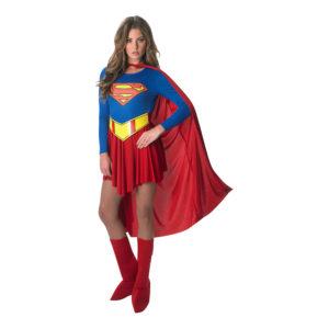 Supergirl Klassisk Maskeraddräkt - Large