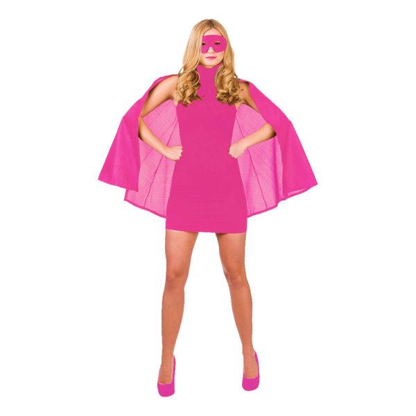 Superhjälte Rosa Tillbehörskit - One size