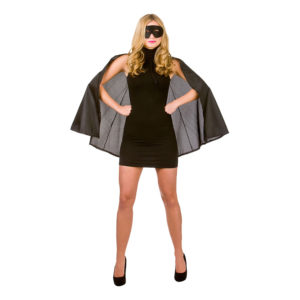 Superhjälte Svart Tillbehörskit - One size