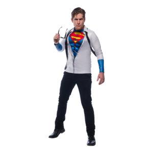 Superman Clark Kent Maskeraddräkt - X-Large