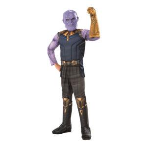 Thanos Deluxe Infinity War Barn Maskeraddräkt - Small