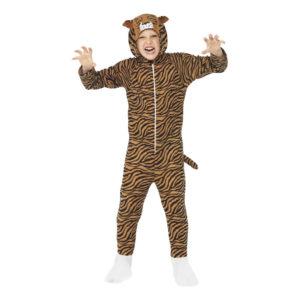 Tigerdräkt Barn Maskeraddräkt - Large