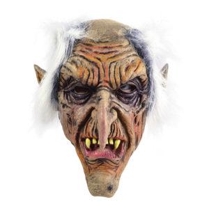 Troll Mask med Hår - One size