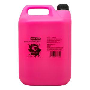 UV Neon Splash Kroppsfärg - Rosa 5 liter