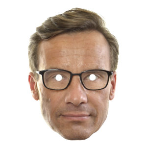 Ulf Kristersson Pappmask