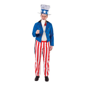 Uncle Sam Maskeraddräkt - One Size