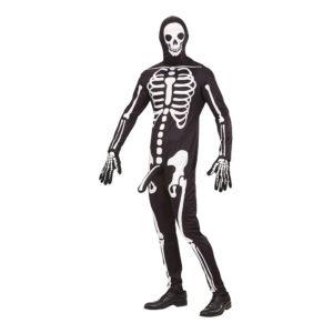 Välhängt Skelett Maskeraddräkt - Medium