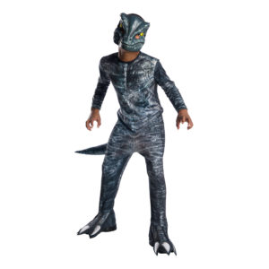 Velociraptor Blue Barn Maskeraddräkt - Large