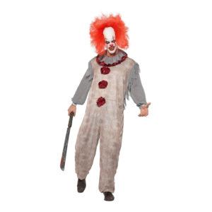Vintage Clown Maskeraddräkt - Large