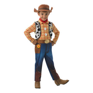 Woody Deluxe Barn Maskeraddräkt - Medium