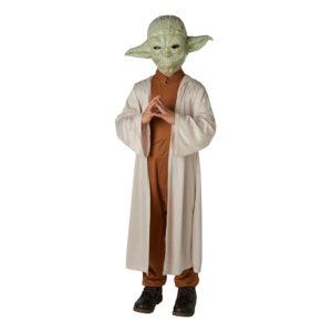 Yoda Klassisk Barn Maskeraddräkt - Small