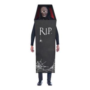 Zombie i Kista Halloween Maskeraddräkt - Standard