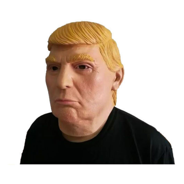 Ansikte Trump mask - One size