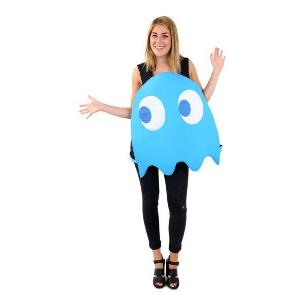 Blått Spöke Maskeraddräkt - One size
