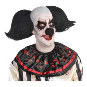 Clownperuk Svart - One size