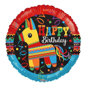 Folieballong Pinata Happy Birthday