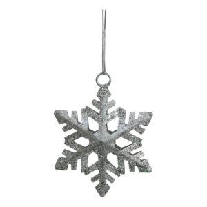 Julhänge Snöflinga Silver
