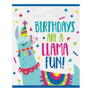 Kalaspåsar Llama Birthday Party - 8-pack