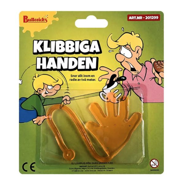 Klibbiga Handen